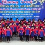 """Chương trình thiện nguyện """" tết ấm cho đồng bào, thiếu nhi nghèo xuân Tân Sửu năm 2021""""."""